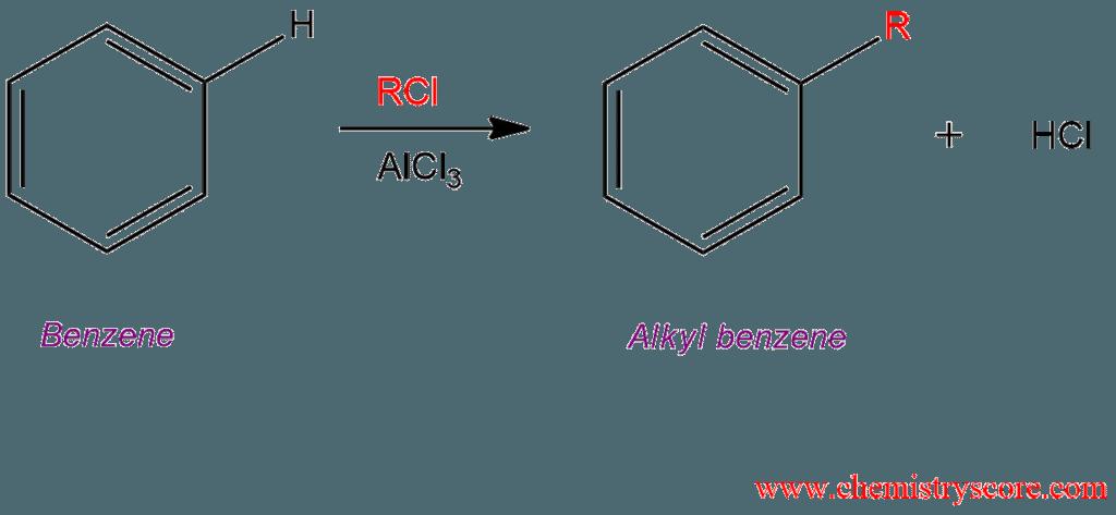 Friedel Crafts Alkylation R X Plus Catalyst Chemistryscore