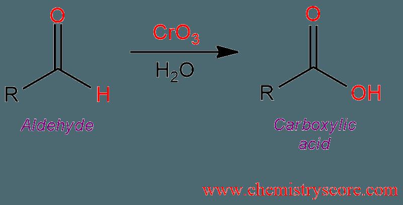 oxidation to carboxylic acid h2cro4 or kmno4 chemistryscore
