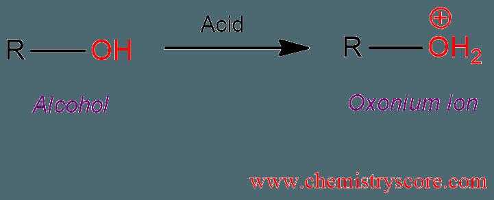 Protonation [onium Ion Formation] Definition: