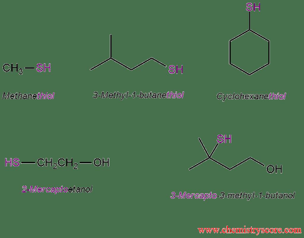 Thiol formation [SN2] - ChemistryScore
