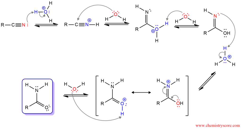 Hydrolysis to carboxylic acids - ChemistryScore