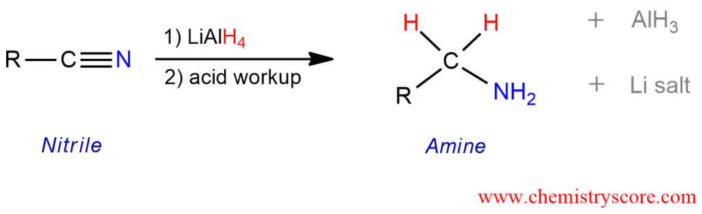 Reduction To Amines  Lialh4