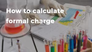 How to calculate formal charge